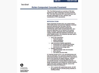 US RCC Tech Brief