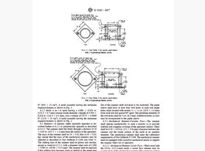 ASTM - Soil Compaction