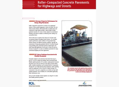 RCC for Highways and Streets