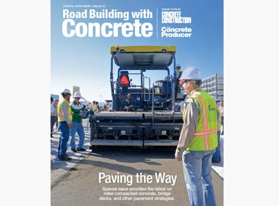 Road Building with Concrete