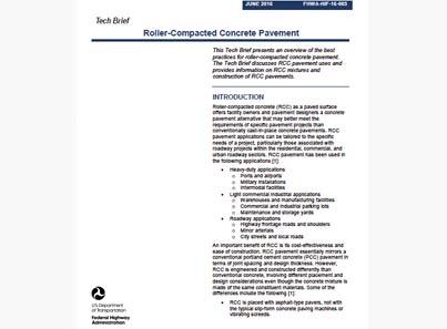 US RCC Tech Brief